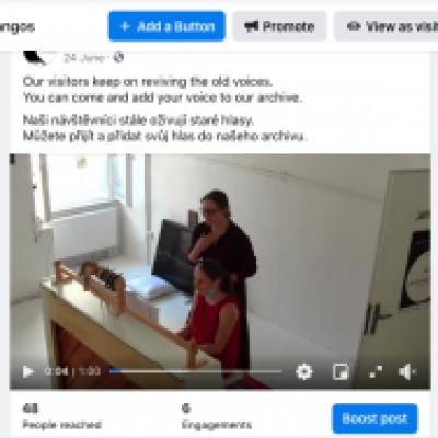 Visitors' videos